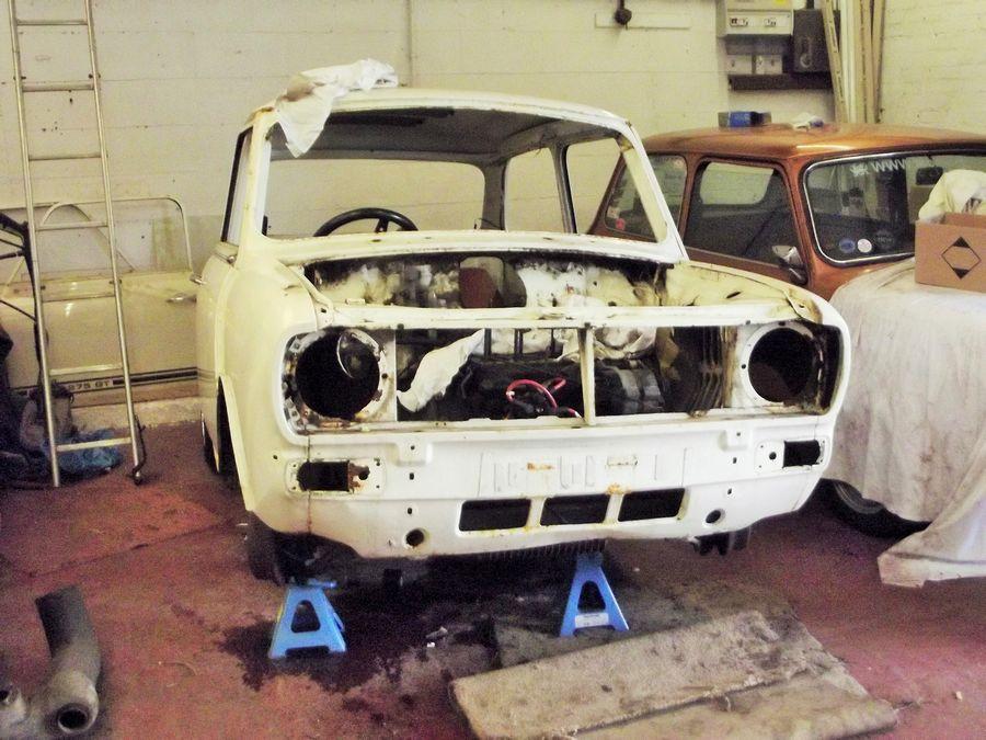 Jacks Mini Clubman 1100 Project Classic Mini Restoration Company